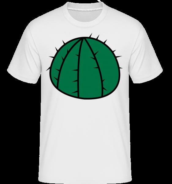 Cactus Comic -  Shirtinator tričko pro pány - Bílá - Napřed