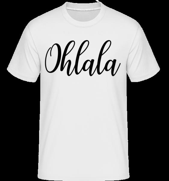 Ohlala -  Shirtinator tričko pro pány - Bílá - Napřed