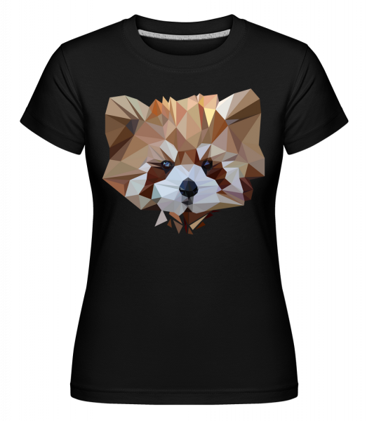 polygon Bear -  Shirtinator tričko pro dámy - Černá - Napřed
