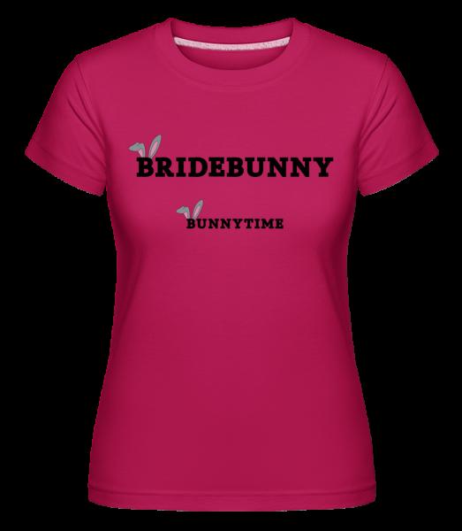 Bridebunny Bunnytime - Shirtinator tričko pro dámy - Magenta - Napřed