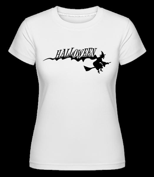 Halloween Witch - Shirtinator tričko pro dámy - Bílá - Napřed