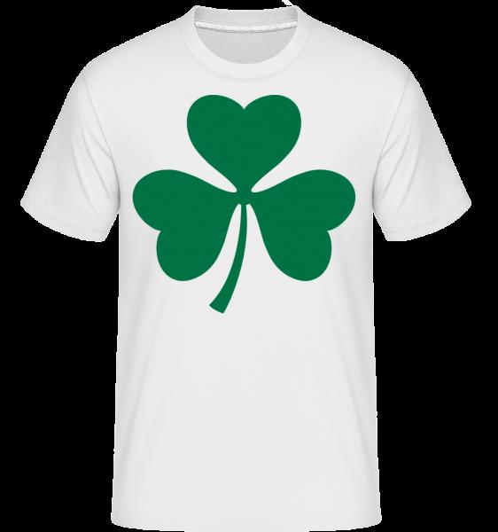 Ireland Cloverleaf - Shirtinator tričko pro pány - Bílá - Napřed