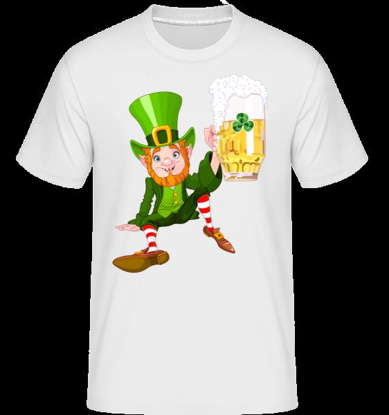 Irish Beer Logo -  Shirtinator tričko pro pány - Bílá - Napřed