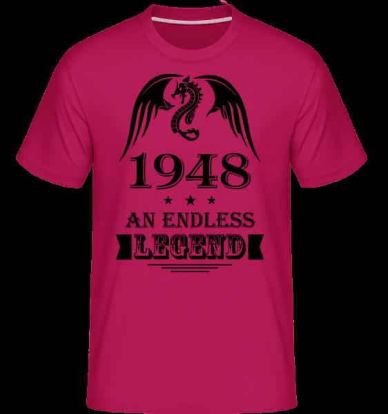 Nekonečné Legend 1948 - Shirtinator tričko pro pány - Magenta - Napřed