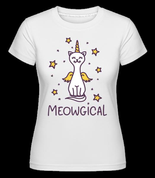 Meowgical - Shirtinator tričko pro dámy - Bílá - Napřed