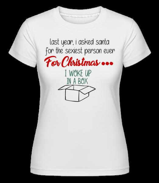 Sexiest osoba je Me -  Shirtinator tričko pro dámy - Bílá - Napřed