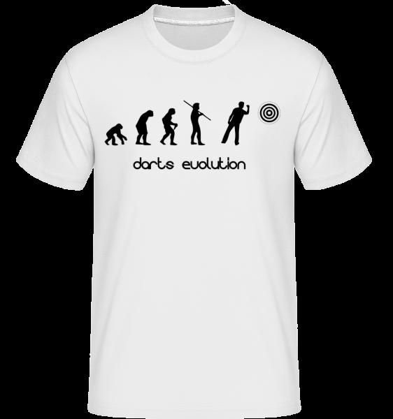 Šipky Evolution - Shirtinator tričko pro pány - Bílá - Napřed