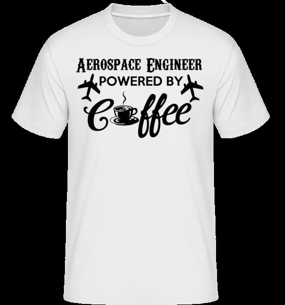 Aerospace Engineer -  Shirtinator tričko pro pány - Bílá - Napřed