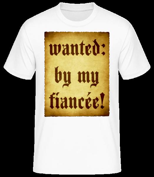 Chtěli Tím moje snoubenka - Pánské basic tričko - Bílá - Napřed