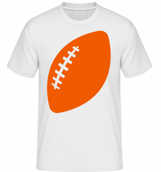 Rugby Comic -  Shirtinator tričko pro pány - Bílá - Napřed