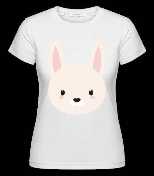 Bunny Comic -  Shirtinator tričko pro dámy - Bílá - Napřed