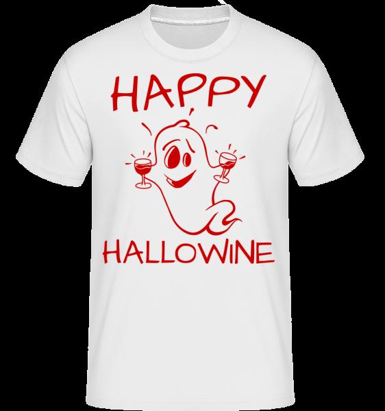 Halloween Duch -  Shirtinator tričko pro pány - Bílá - Napřed