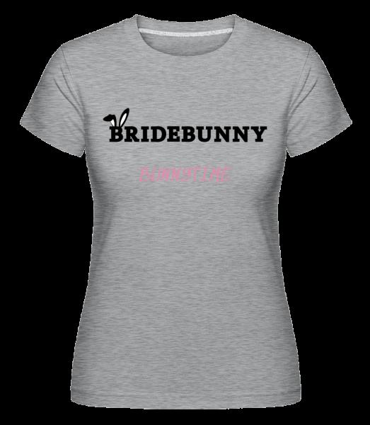 Bridebunny Bunnytime - Shirtinator tričko pro dámy - Melirovĕ šedá - Napřed