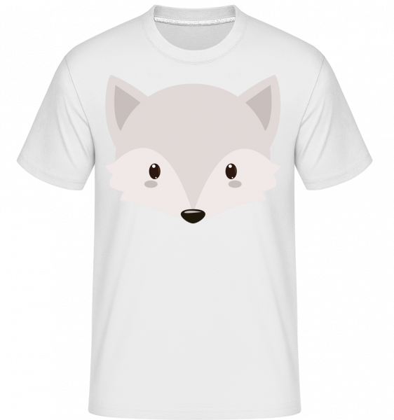 Fox Comic -  Shirtinator tričko pro pány - Bílá - Napřed