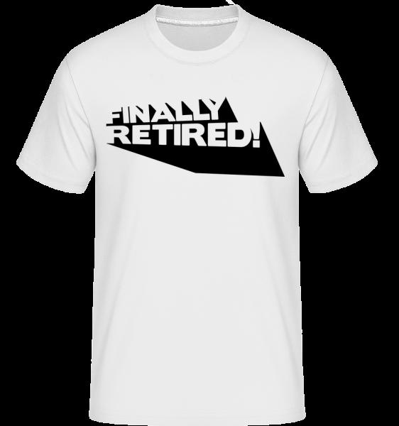 Konečně důchodci! - Shirtinator tričko pro pány - Bílá - Napřed