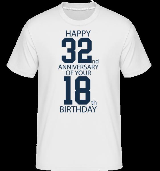 50. narozeniny -  Shirtinator tričko pro pány - Bílá - Napřed