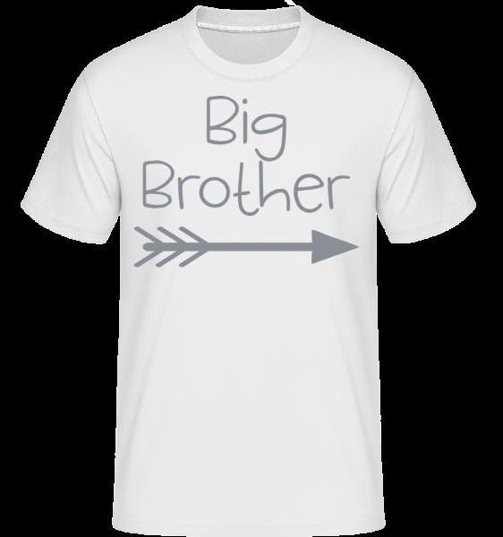 Big Brother -  Shirtinator tričko pro pány - Bílá - Napřed