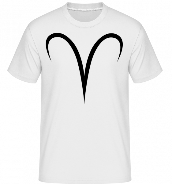 Beran Znamení -  Shirtinator tričko pro pány - Bílá - Napřed