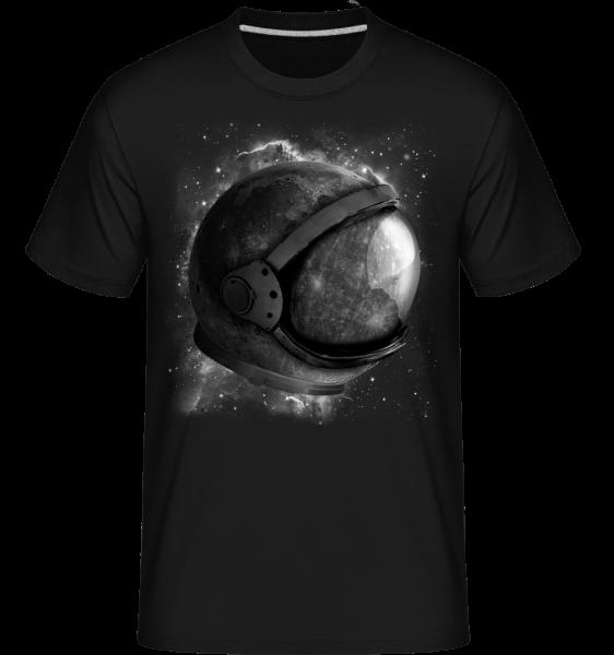 Astronaut'Helmet -  Shirtinator tričko pro pány - Černá - Napřed