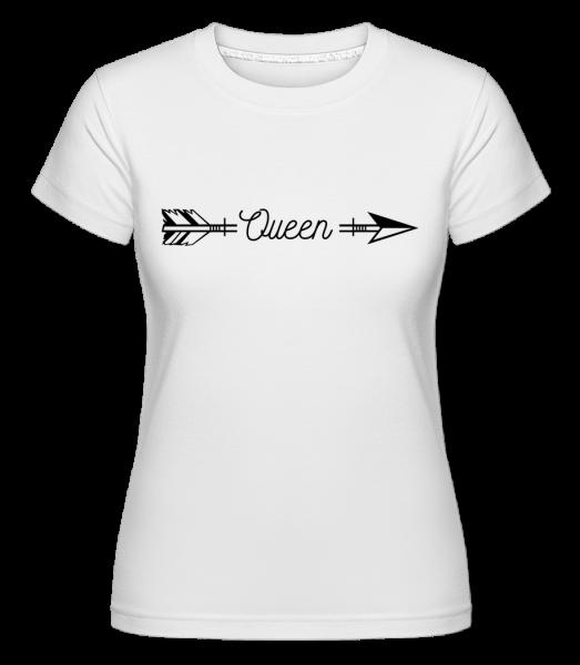 Arrow královna - Shirtinator tričko pro dámy - Bílá - Napřed