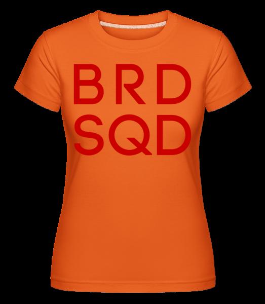 nevěsta Squad -  Shirtinator tričko pro dámy - Oranžová - Napřed