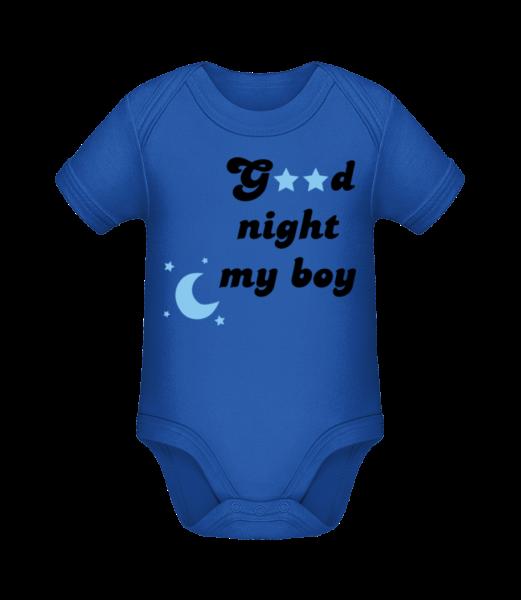 Good Night My Boy - Bio body pro děti - Královská modrá - Napřed