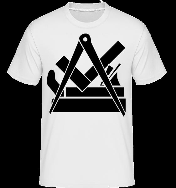 DIY Icon -  Shirtinator tričko pro pány - Bílá - Napřed