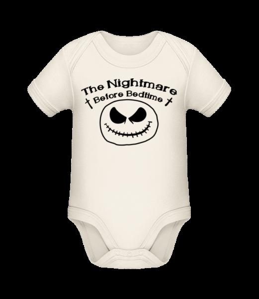 Nightmare před spaním - Bio body pro děti - Krémová - Napřed