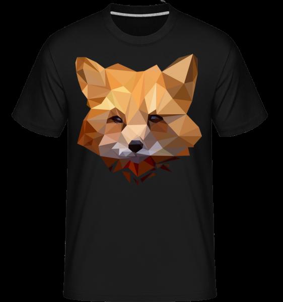 Polygon Fox -  Shirtinator tričko pro pány - černá - Napřed