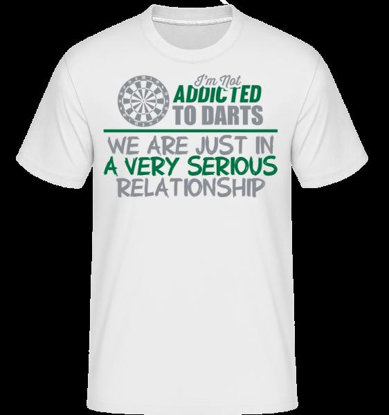 Šipky Vztah - Shirtinator tričko pro pány - Bílá - Napřed