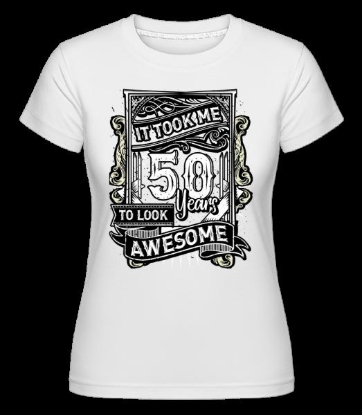 Mi trvalo 560 let - Shirtinator tričko pro dámy - Bílá - Napřed