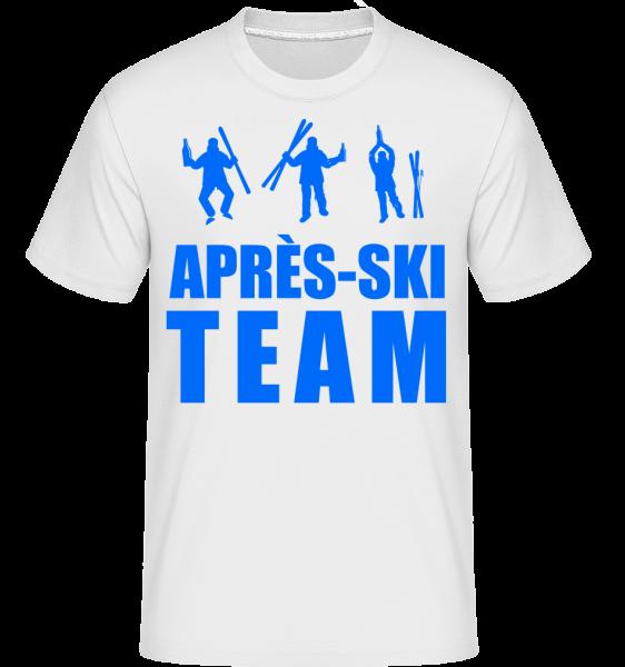 Après Ski Team - Shirtinator tričko pro pány - Bílá - Napřed