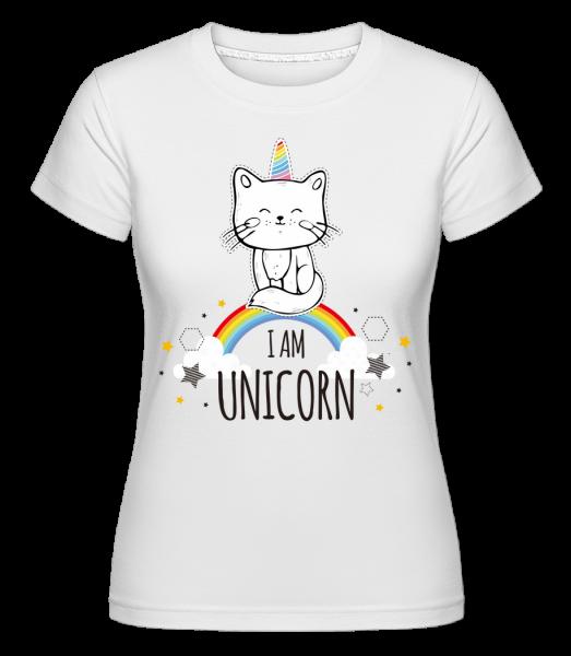 I Am Unicorn -  Shirtinator tričko pro dámy - Bílá - Napřed