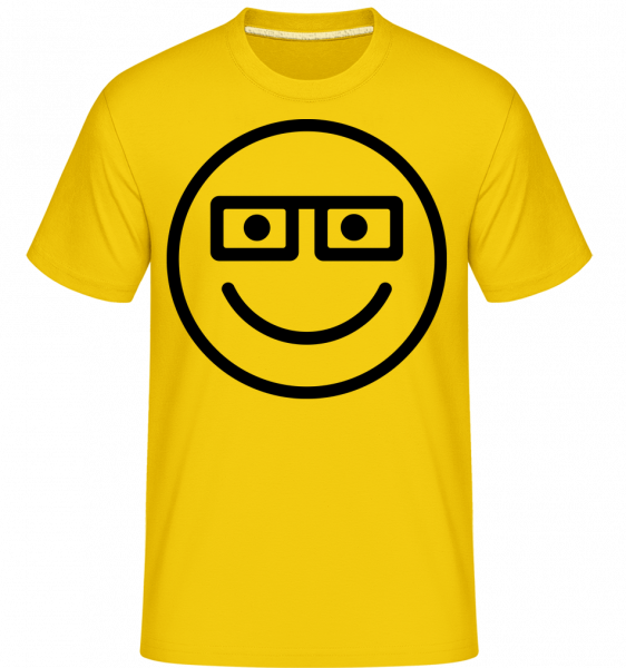 Smiley Emoticon - Shirtinator tričko pro pány - Zlatožlutá - Napřed