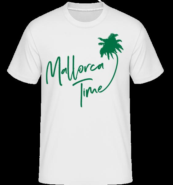 Mallorca Time -  Shirtinator tričko pro pány - Bílá - Napřed