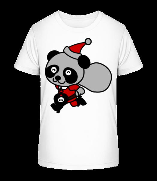Christmas Bear - Detské Premium Bio tričko - Bílá - Napřed