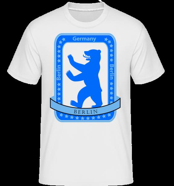 Berlin Bear Icon -  Shirtinator tričko pro pány - Bílá - Napřed