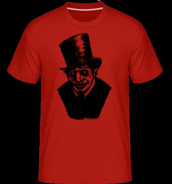 gentleman Zombie - Shirtinator tričko pro pány - Červená - Napřed