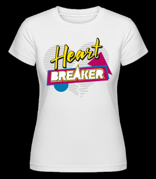 Lamač srdcí - Shirtinator tričko pro dámy - Bílá - Napřed