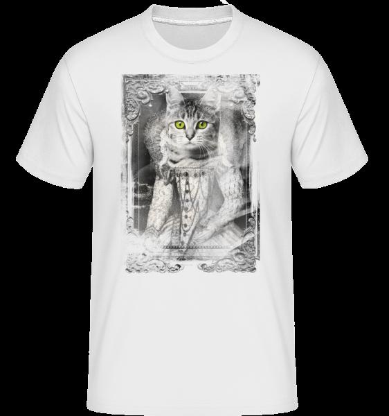 Kočky Obrazy -  Shirtinator tričko pro pány - Bílá - Napřed
