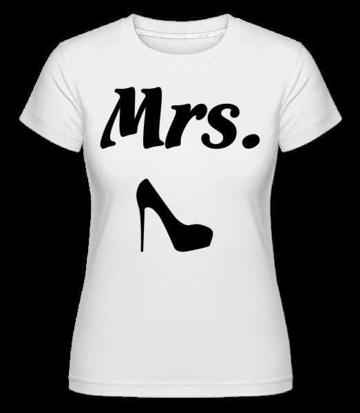 paní Wedding -  Shirtinator tričko pro dámy - Bílá - Napřed