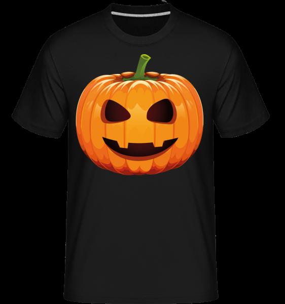 Laughing Pumpkin - Shirtinator tričko pro pány - černá - Napřed