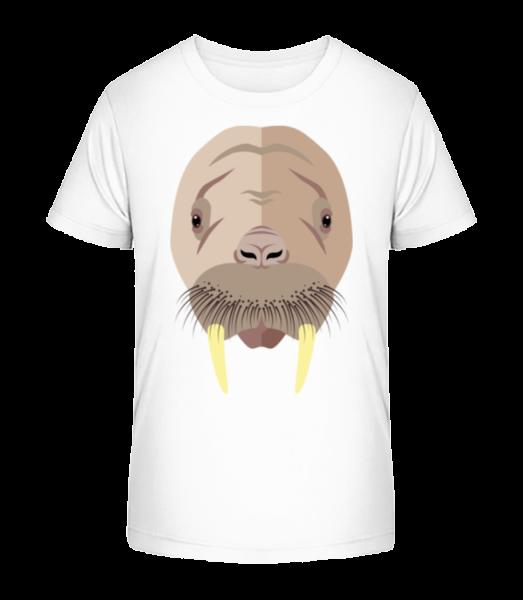 Seal Comic Stín - Detské Premium Bio tričko - Bílá - Napřed