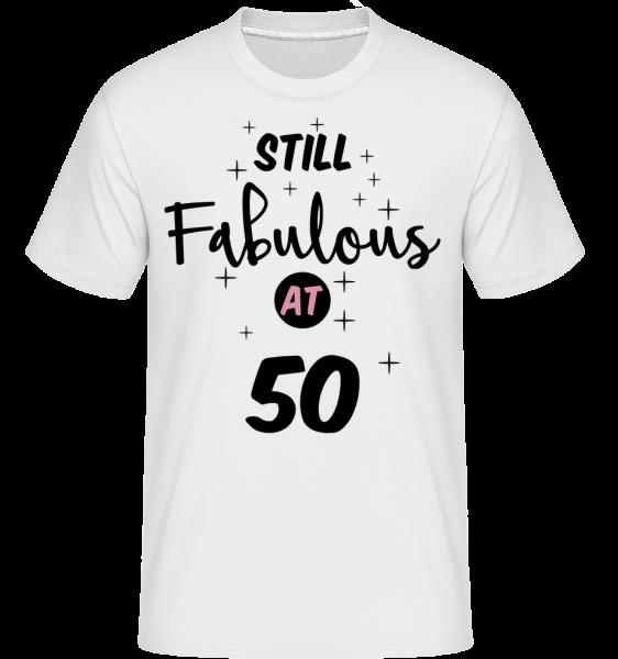 Fabulous Na 50 Still - Shirtinator tričko pro pány - Bílá - Napřed